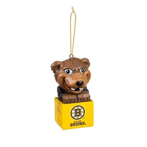 NHL 3.5-inch Mascot Tiki Totem Ornament