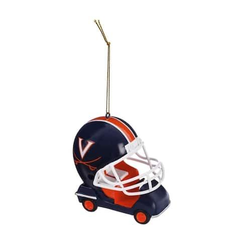 NCAA 3-inch Team Field Car Ornament