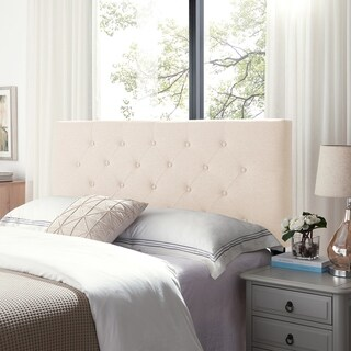 Atterbury Contemporary Upholstered Queen/Full Headboard by Christopher Knight Home