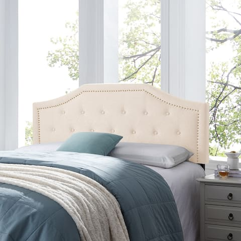 Elinor Contemporary Upholstered Queen/Full Headboard by Christopher Knight Home