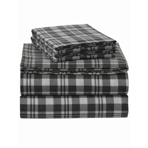 Enviohome Cotton Flannel Bed Sheet Set