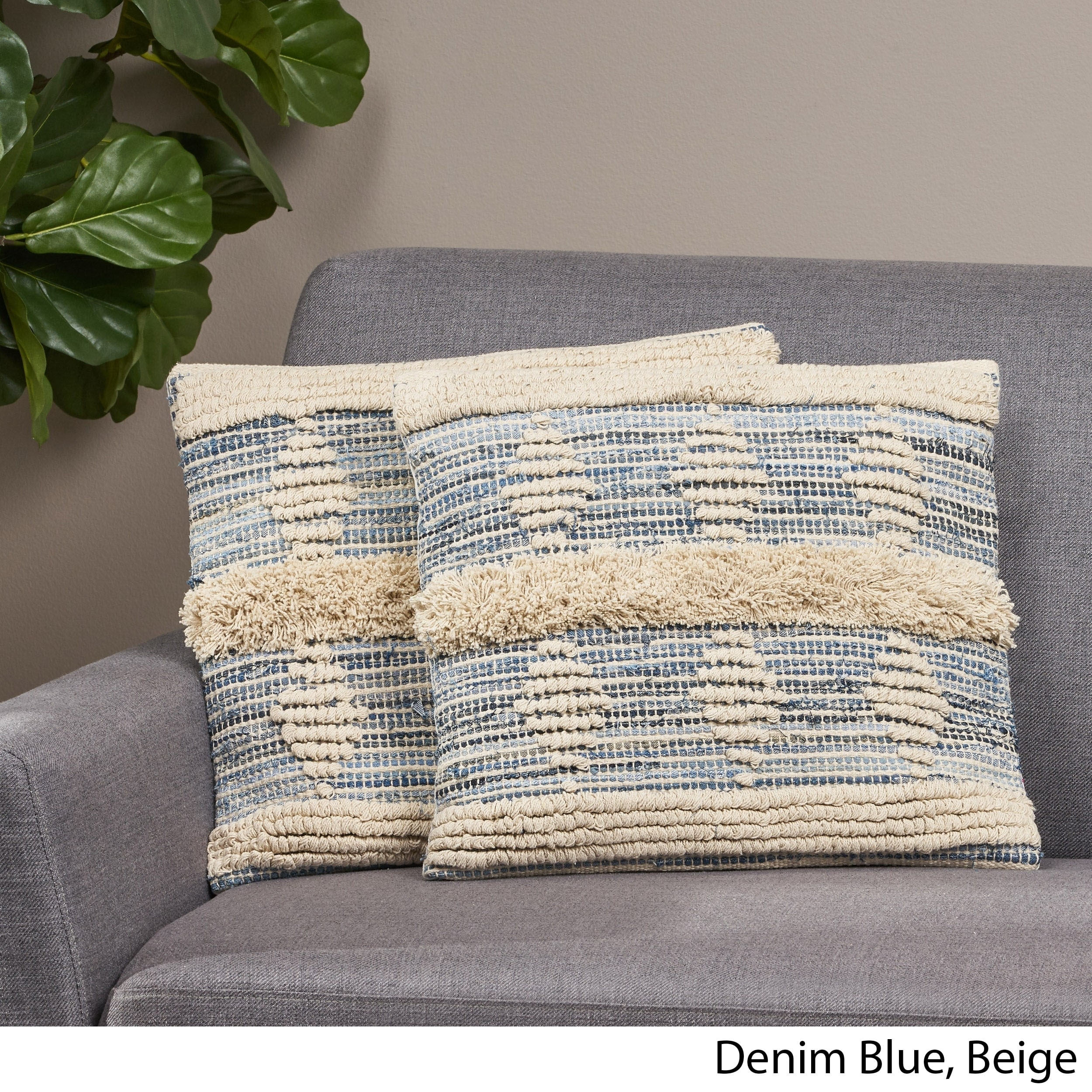 Picture of: Shop Hersey Boho Pillow Cover By Christopher Knight Home Overstock 30148511