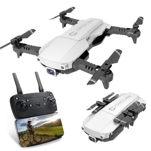 Coutlet 4K HD Foldable Drone RC Quadcopter FPV WIFI Quadcopter HD Camera airflow video Selfie Drone