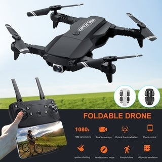 Link to Coutlet 4K HD Foldable Drone RC Quadcopter FPV WIFI Quadcopter HD Camera airflow video Selfie Drone Similar Items in Remote Control Toys