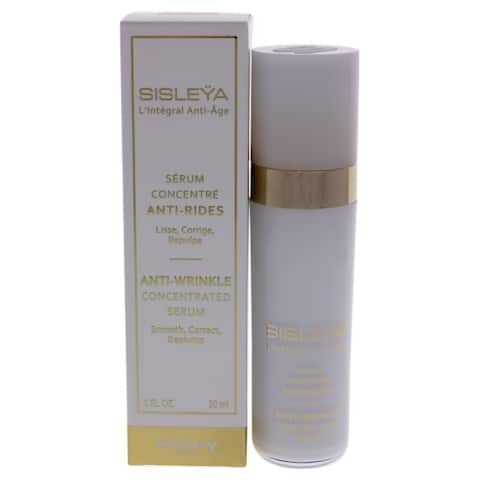 LIntegral Anti-Age Anti-Wrinkle Concentrated Serum by Sisley for Women - 1 oz Serum