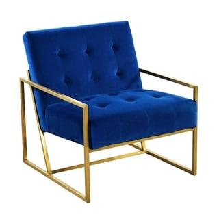 Velvet electroplate Living Room armchair