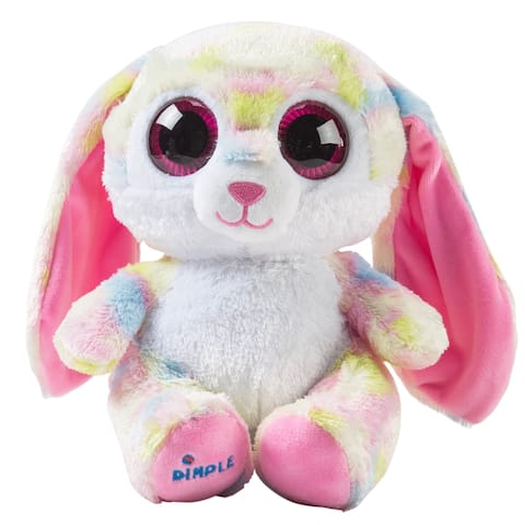 Dimple Plush Bluetooth Speaker Musical Bunny Stuffed Hugging Animal Teddy Bear With Speakers Toy For Kids