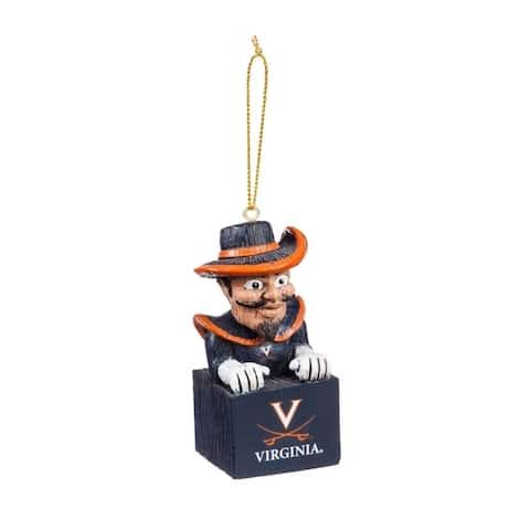 NCAA 3.5-inch Mascot Tiki Totem Ornament