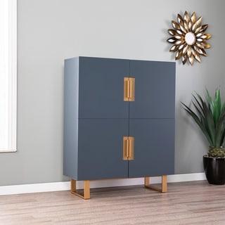 Holly & Martin Hanzman Blue Storage Accent Cabinet