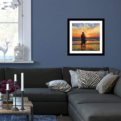 "iCanvas ""A New Beginning"" by Leon Devenice Framed Fine Art Paper Print"
