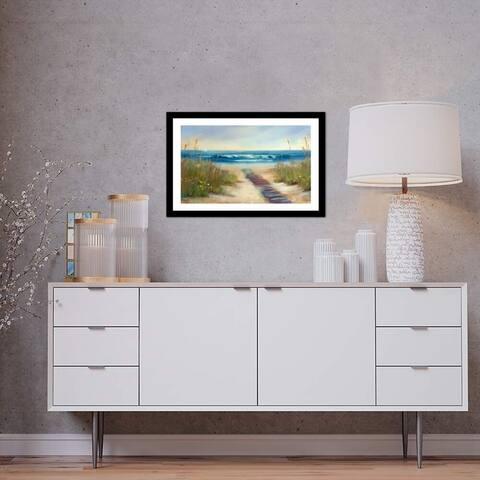 "iCanvas ""Serenity II"" by Karen Margulis Framed Fine Art Paper Print - 16x24x1"