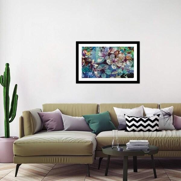 "iCanvas ""Full Bloom"" by Jon Wassom Framed Fine Art Paper Print. Opens flyout."