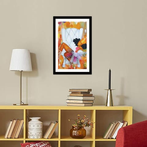 "iCanvas ""Belle"" by Pinklomein Framed Fine Art Paper Print"