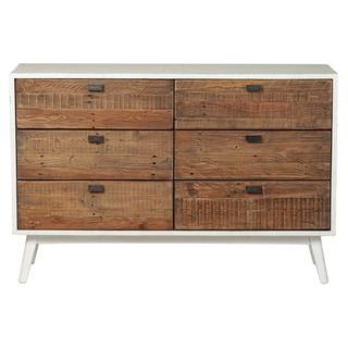 Carbon Loft Morgado Farmhouse White 6-drawer Dresser
