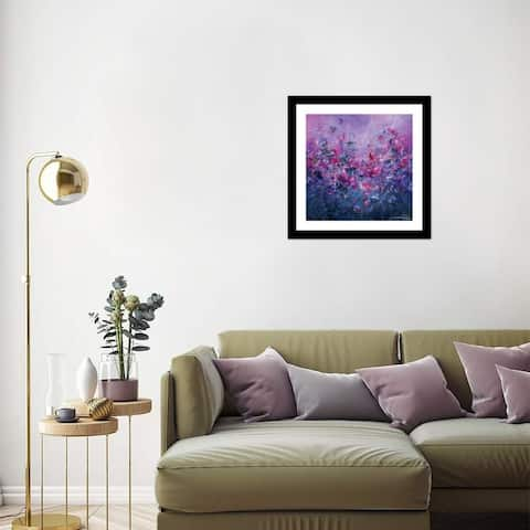 """iCanvas """"Always Forever"""" by Jaanika Talts Framed Fine Art Paper Print"""