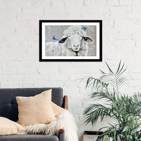 """iCanvas """"Days Like These"""" by Suzi Redman Framed Fine Art Paper Print"""
