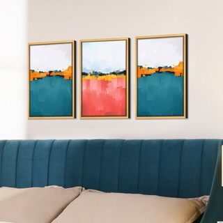 Carson Carrington Parkajoki Gold Frame Wall Art