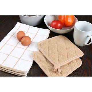 """Arkwright Dishcloths (12-pack) for Cleaning, Drying Dishes (12"""" x 12"""")"""