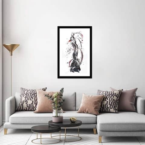 "iCanvas ""Ardour"" by Penny Warden Framed Fine Art Paper Print - 24x16x1"