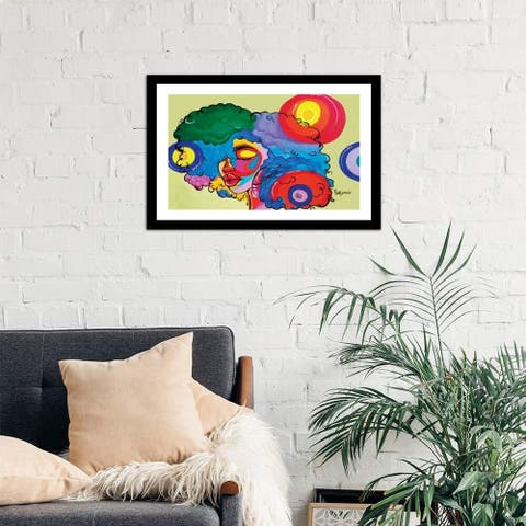 "iCanvas ""Bali"" by Pinklomein Framed Fine Art Paper Print"