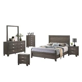 Best Quality Furniture Anastasia 6-Piece Bedroom Set