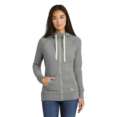 New Era Women's Sueded Cotton Blend Full-Zip Hoodie.