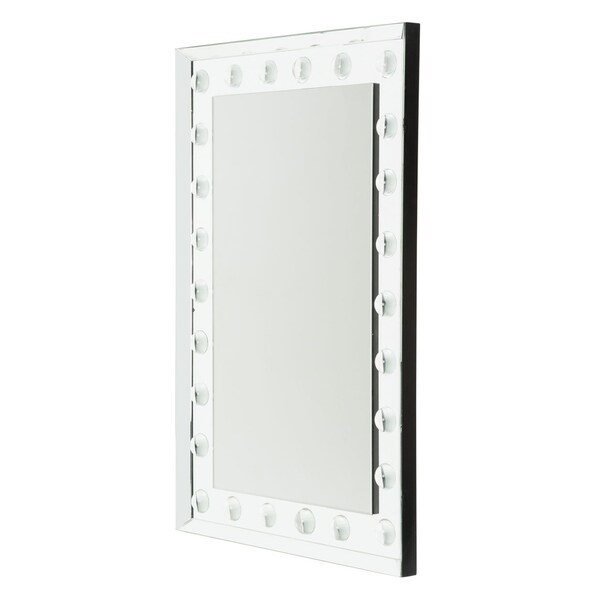 Montreal Rectangular Hollywood Vanity Dome LED Wall Mirror