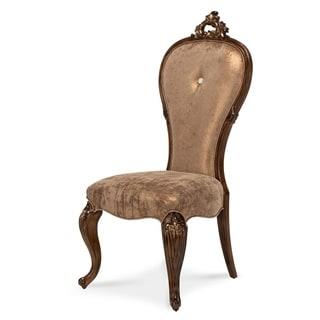 Platine de Royale Light Espresso Side Chair by Jane Seymour