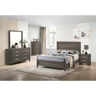 Best Quality Furniture Anastasia 4-Piece Bedroom Set with Extra Chest