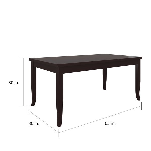 Copper Grove Ria Rectangular Butterfly Leaf Dining Table