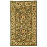 Safavieh Handmade Antiquities Gem Green Wool Rug - 2' x 3'