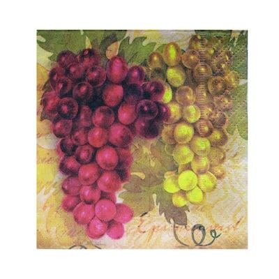 Epicureanist 20 Ct. Vineyard Napkins Bulk Buy (96 Packs)