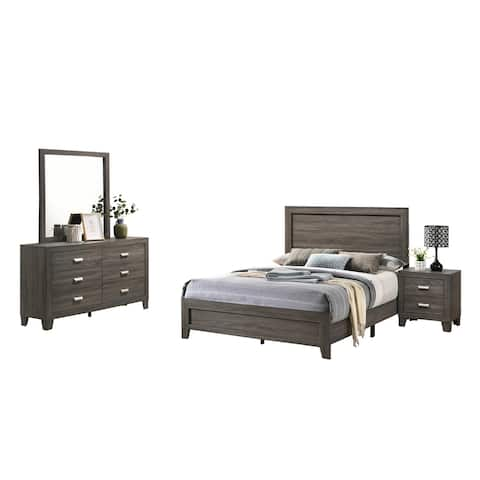 Best Quality Furniture Anastasia 4-Piece Bedroom Set