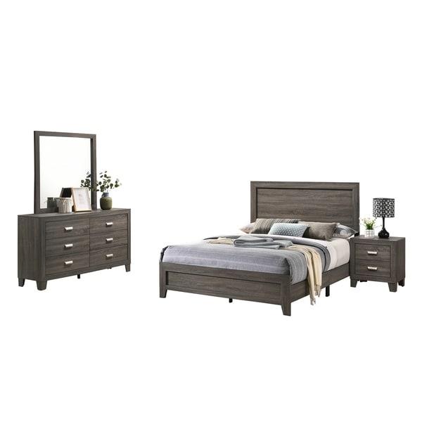 Best Quality Furniture Anastasia 4-Piece Bedroom Set