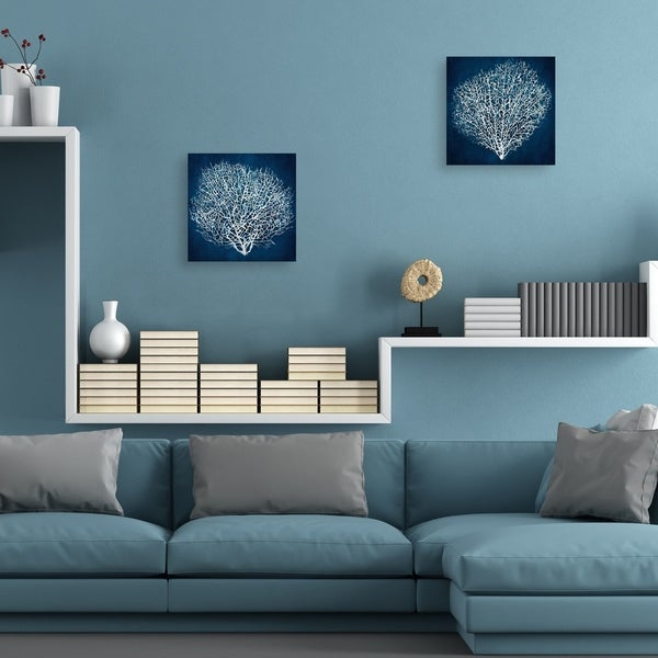Sea Fan I & II by Studio Arts Set of Canvas Art Prints