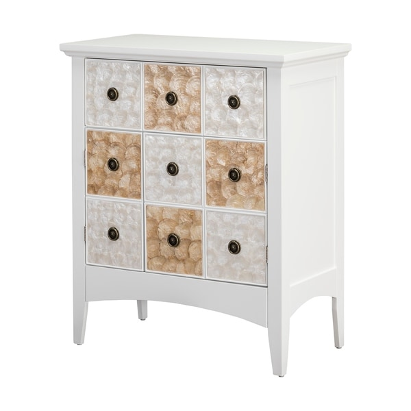 """Suduku 32"""" High Two Door - One Drawer Accent Cabinet"""
