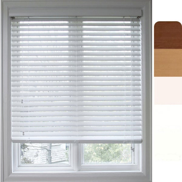 Arlo Blinds Customized Faux Wood 54.75-inch Window Blind