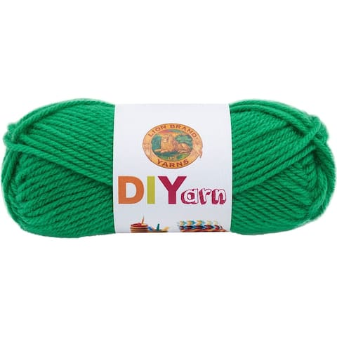 Lion Brand DIYarn -Green