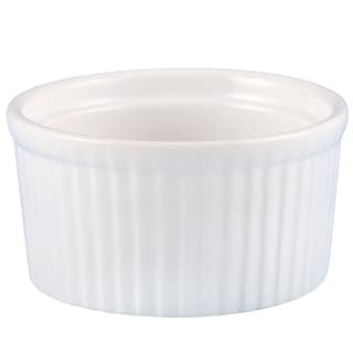 Link to Creative Home Set of 6 Ceramic Ramekin, 4 oz, White Similar Items in Bakeware