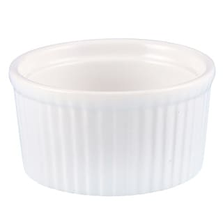 Link to Creative Home Set of 6 Ceramic Ramekin, 3 oz, White Similar Items in Bakeware