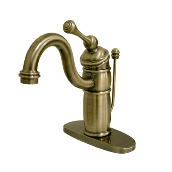Kingston Victorian Centerset Vintage Brass Bathroom Fauce...