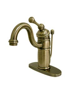 Single hole Kingston Brass Bathroom Faucets For Less | Overstock