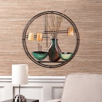 Clay Alder Home Sorlie Circular Wall Art