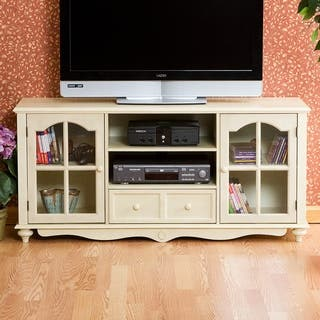 Harper Blvd Medallion Antique White Tv Console