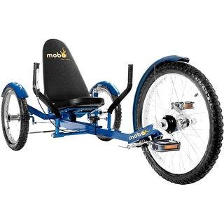 Mobo Triton Pro The Ultimate Adult Three Wheeled Blue Cruiser