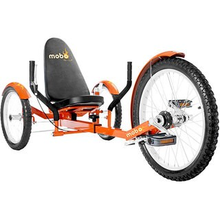 Mobo Triton Pro The Ultimate Adult Three Wheeled Orange Cruiser