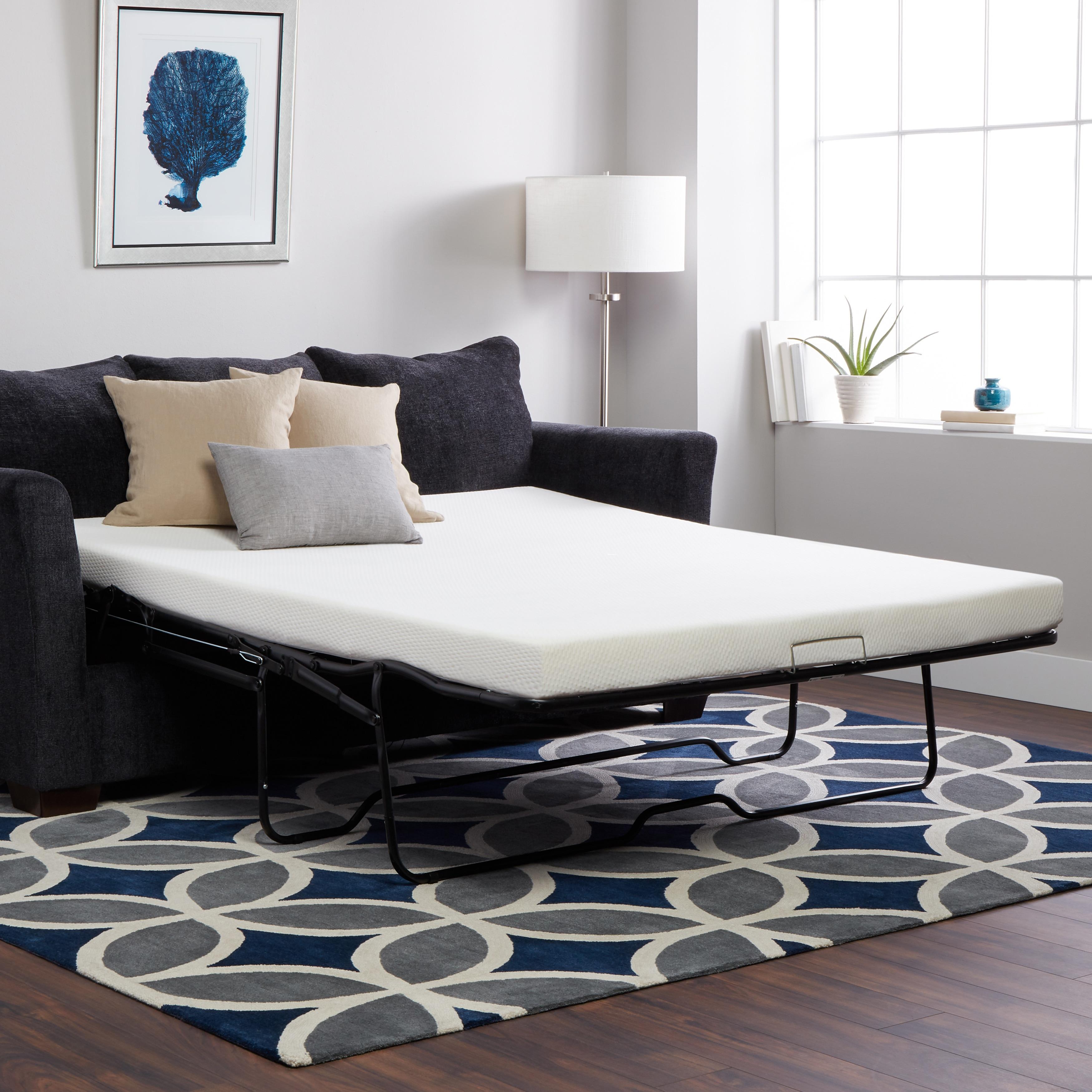Select Luxury New Life 4.5-inch Twin-size Memory Foam Sof...