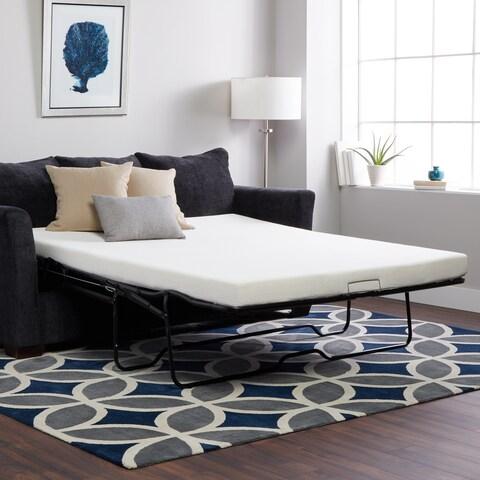 Select Luxury New Life 4.5-inch Queen-size Memory Foam Sofa Bed Sleeper Mattress (Mattress Only)