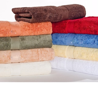 Calcot Supima Cotton Loop Fast-Drying Towel 6-piece Towel Set