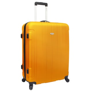 Traveler's Choice Rome 28-inch Large Hardside Spinner Upright Suitcase